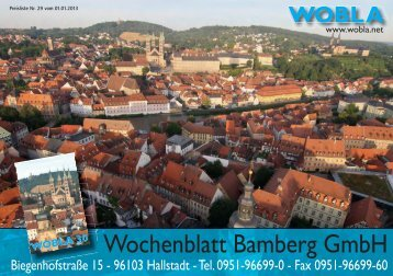 Wochenblatt Bamberg GmbH - WoBla