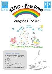 Ausgabe 01/2013 - Kinder- und Jugenddorf Regenbogen eV