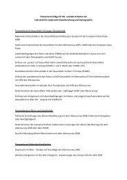 Themenvorschläge für BA- und MA-Arbeiten am Lehrstuhl für ...
