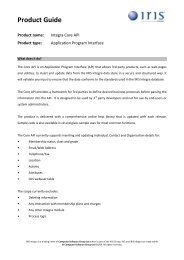 IRIS Integra Core API Product Guide 0309.pdf