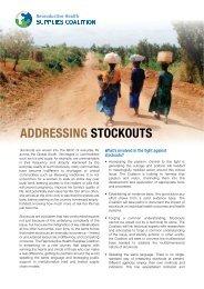 factsheet - Reproductive Health Supplies Coalition