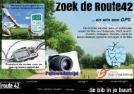Download de brochure - Route42