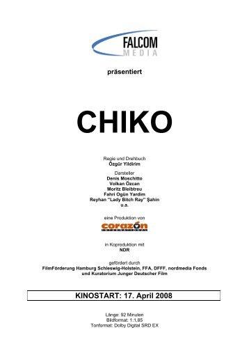 Chiko der Film - Presseheft - matthias bolliger