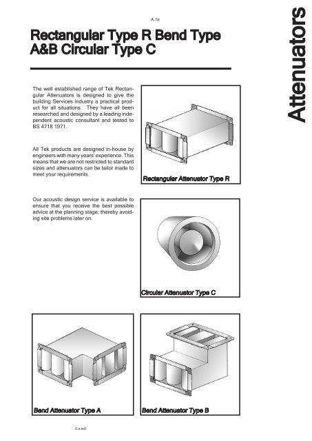Attenuators - Tek Ltd