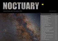 Volume 1, Number 1 (November 2012) ISSN 2304-8255 - NOCTUARY