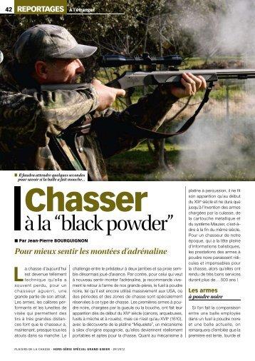 "à la ""black powder"" - Ardesa"