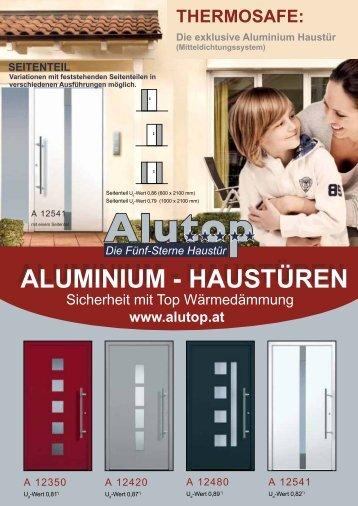 ALUMINIUM - HAUSTÜREN ALUMINIUM ... - Rollladenland.at