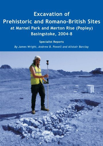 Excavation of Prehistoric and Romano-British Sites - Wessex ...