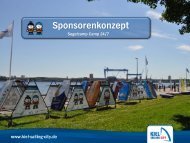 Download des Sponsorenkonzepts - Kiel Marketing