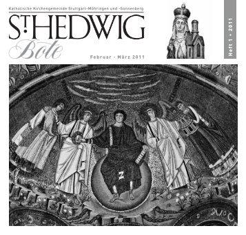 Das 19. Jahrhundert hat uns außer seinen ... - St. Hedwig
