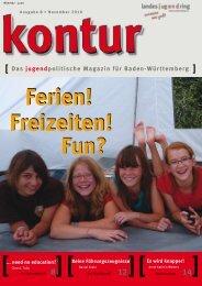 Das jugendpolitische Magazin für Baden-Württemberg