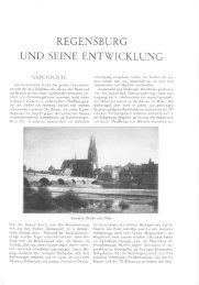 REGENSBURG UND SEINE ENTWICKLUNG - Statistik - Stadt ...