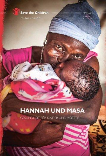 Hannah und Masa - Save the Children