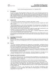 Merkblatt Profilwechsel - Wirtschaftsschule KV Chur