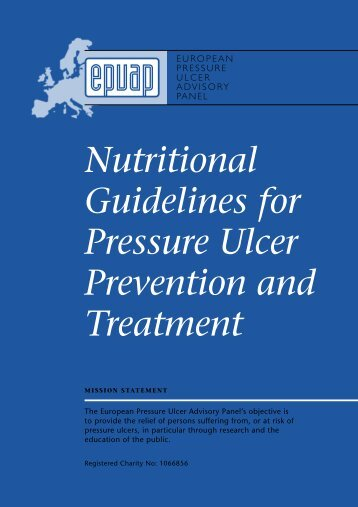 Nutritional Guidelines for Pressure Ulcer Prevention ... - Judy Waterlow