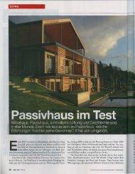 17 / 01 / 2013 Naturresidence DAHOAM in der Zeitschrift
