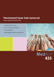 Permanent laser hair removal - MedArt