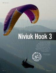 Der spanische Hersteller Niviuk hat sich als Topteam und ...