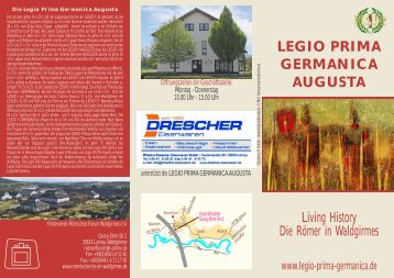 Download Folder als PDF - bei der Legio Prima Germanica Augusta