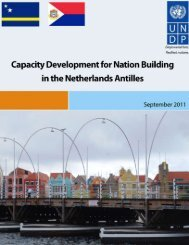 Capacity Development for Nation Building in the Netherlands Antilles