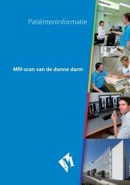 Folder MRI-scan van de dunne darm - Martini ziekenhuis