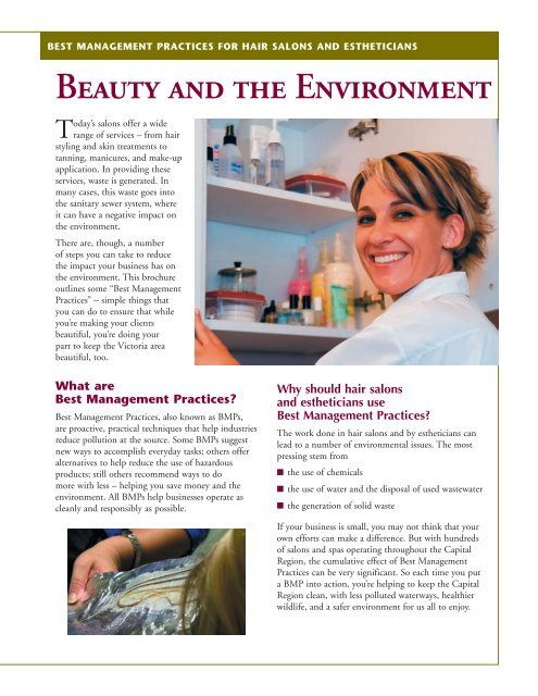 Beauty and the Environment - Capital Regional District