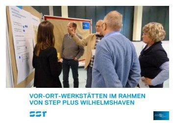 Protokoll / Materialien - Stadt Wilhelmshaven