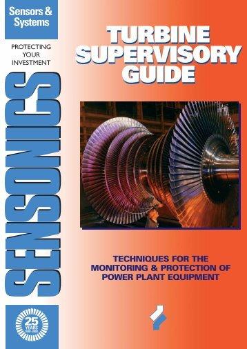 Turbine Supervisory Guide - Sensonics