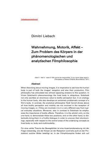 Wahrnehmung, Motorik, Affekt.pdf