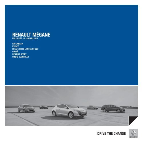 Prijslijst - Renault Dorzo