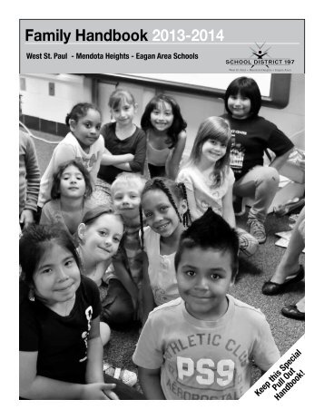 Download a copy of the Family Handbook - West St. Paul - Mendota ...