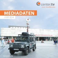 Mediadaten - Center TV