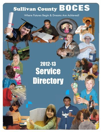 Service Directory - Sullivan County BOCES