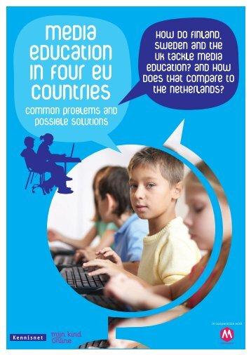 Media education in Four eu countries - Kennisnet