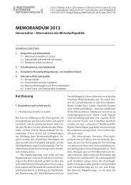 MEMORANDUM 2013 - Arbeitsgruppe Alternative Wirtschaftspolitik