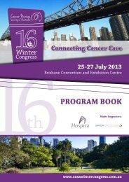 Program Book 2013 - CNSA