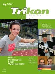 Ausgabe 1/2013 - TRIKON - Westfälische Hochschule