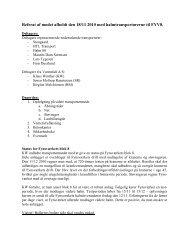 Referat af mødet afholdt den 18. november 2010 (PDF ... - Vattenfall
