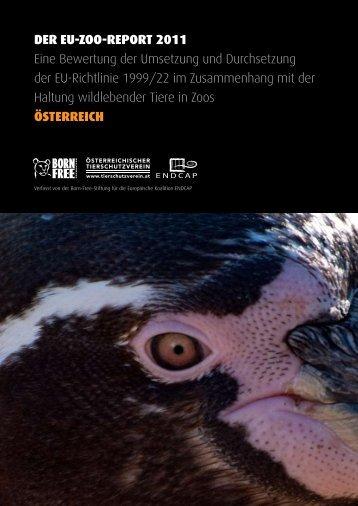 DER EU-ZOO-REPORT 2011 Eine Bewertung der ... - EndZOO