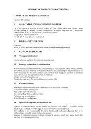SUMMARY OF PRODUCT CHARACTERISTICS 1. NAME ... - Grindeks