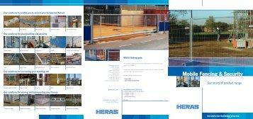 Brochure Assortment - mobilefencing.com
