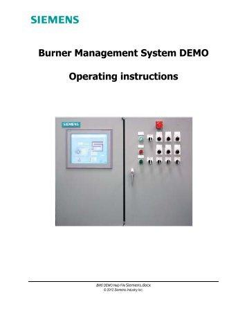 BMS Demo Help File - Siemens Industry, Inc.