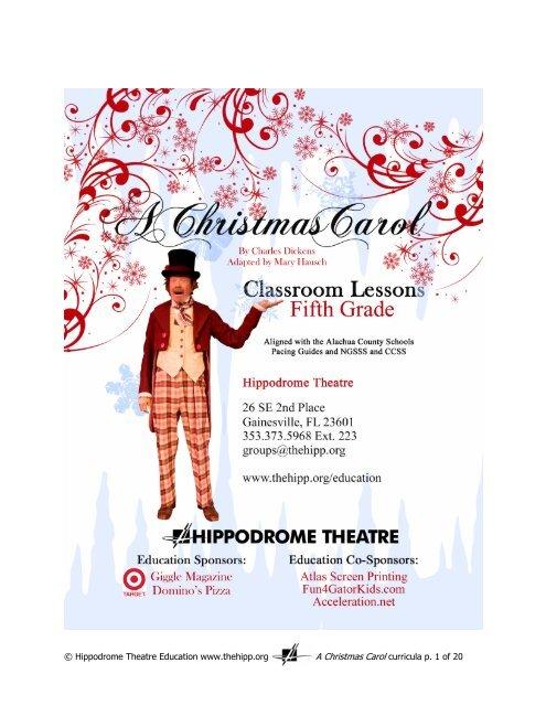 A Christmas Carol Pdf.5th Grade A Christmas Carol Lesson Plan 2013 Pdf