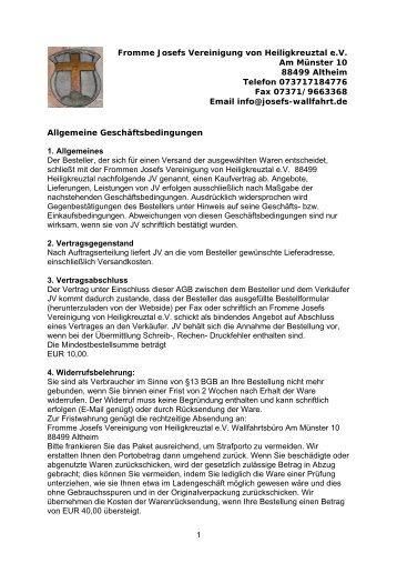 download - Fromme Josefs Vereinigung