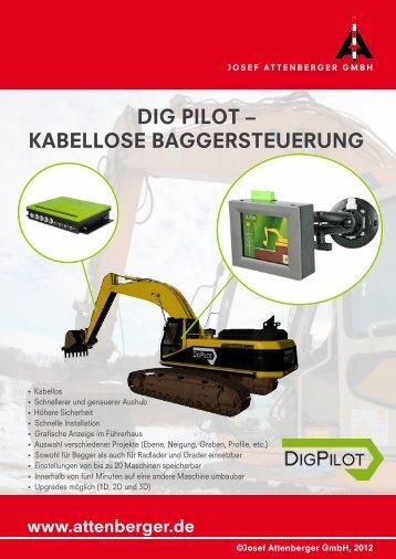 DigPilot - Kabellose Baggersteuerung - Attenberger GmbH