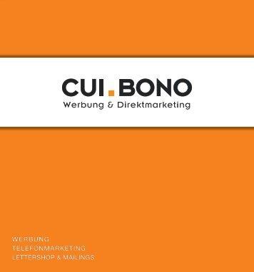 Flyer - Cui Bono