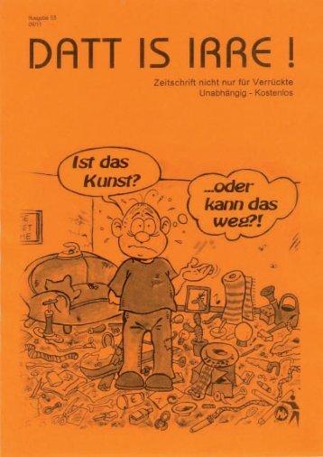 Aus der Redaktion - Dattisirre.de