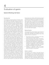Evaluation of Sperm. IN Textbook of Assisted Reproductive ...