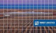 Target Logistics Personalunterkünfte-Broschüre