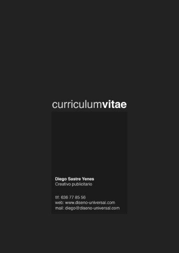descargar curriculum - Diseño Universal